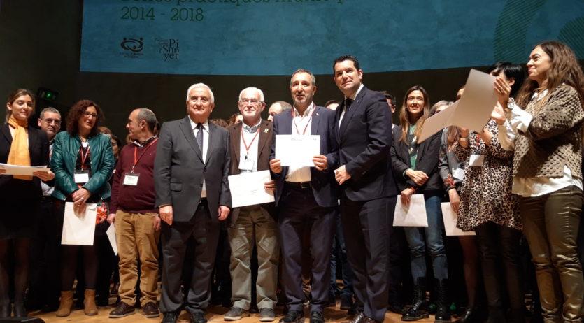 Vilafranca rep dos certificats de bones pràctiques per Vinyes per Calor i Vilafranca Inclusió