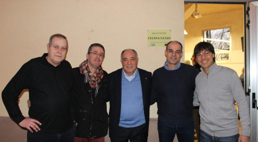 L'Associació de Veïns de Les Clotes ha posat el nom de Celina Guijo a la sala d'actes