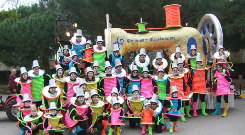 El grup de carnaval Esplai Carnavalístic dels Monjos celebra enguany el seu 25è aniversari