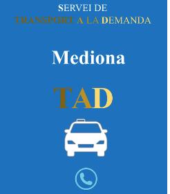 L'Ajuntament de Mediona activa un nou servei de mobilitat a demanda