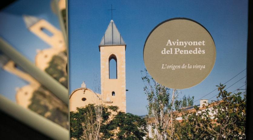 S'ha presentat en societat el llibre 'Avinyonet del Penedès. L'origen de la vinya'