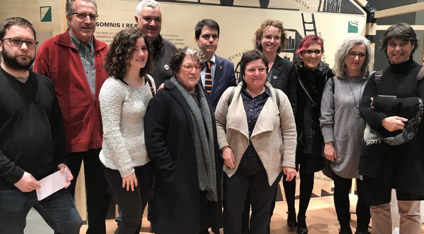 """Vilafranca participa en l'exposició """"Transitar"""" de la Diputació de Barcelona"""