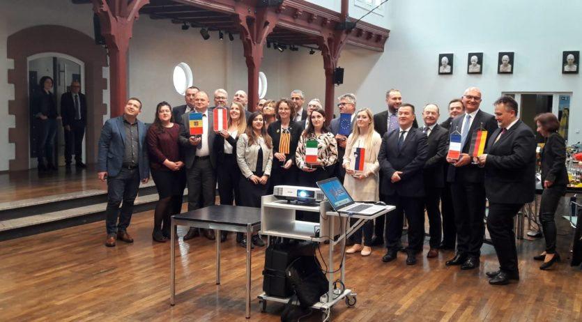 Vilafranca, a la Trobada d'Alcaldes de ciutats agermanades amb Bühl