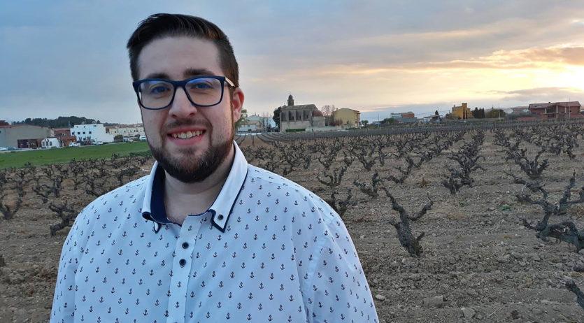 Carles García Moreno és el nou cap de llista de L'Esquerra de Les Cabanyes (l'EC)