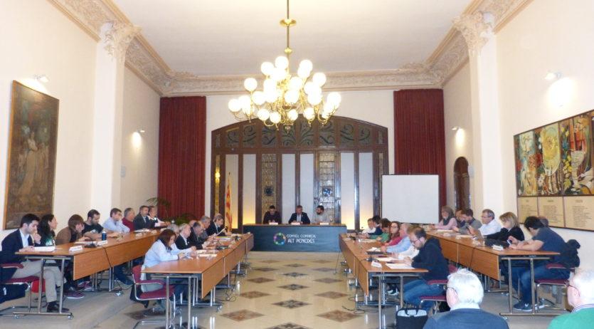 El Consell Comarca de l'Alt Penedès crearà un registre centralitzat de llicències de taxi