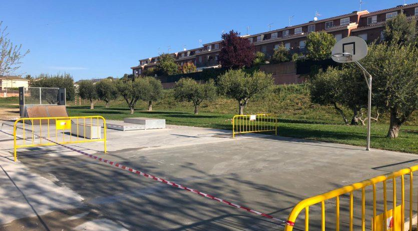 Es posa en funcionament el nou skate del Parc de la Pau