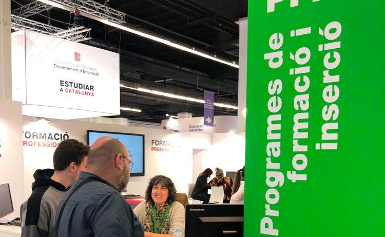 El PFI-Programa de Transició al Treball de Vilafranca participa al Saló de l'Ensenyament