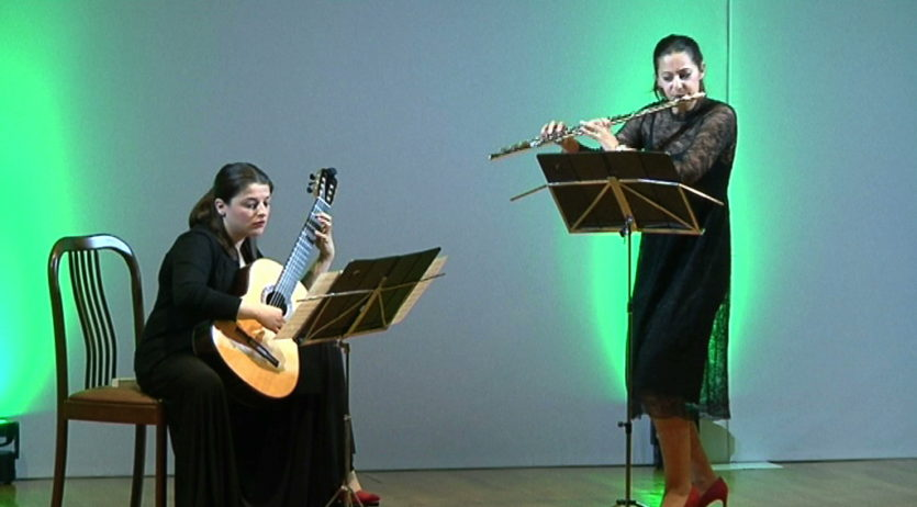El Festival Musicveu ha portat a Vilafranca un duet andalús de gran nivell