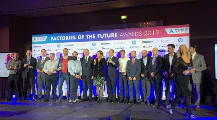 L'Institut Alt Penedès ha estat premiat a la fira Advanced Factories de Barcelona