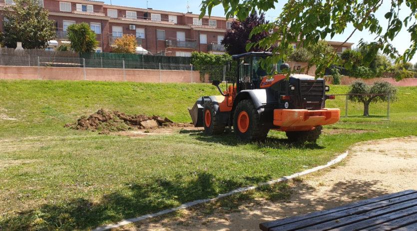 Han començat les obres de la Biblioteca Municipal de Sant Martí Sarroca