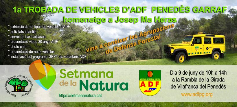 1a Trobada de vehicles d'ADF Penedès Garraf en homenatge a Josep Maria Heras