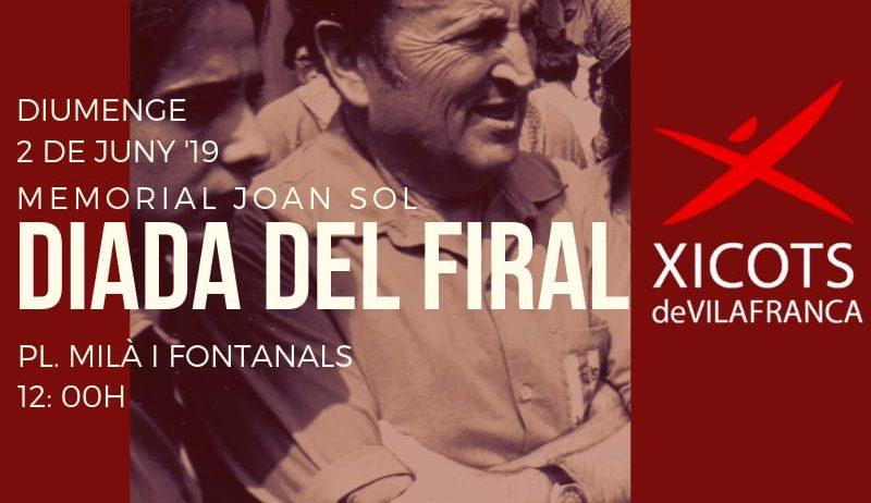 Els Xicots fan dissabte la Pluja d'enxanetes i diumenge la Diada del Firal Memorial Joan Sol