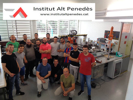 L'Institut Alt Penedès arriba un cop més a la final del concurs de prototips de Siemens