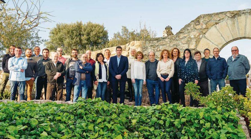 La coalició de l'Entesa i ERC a la Granada presenta la seva llista