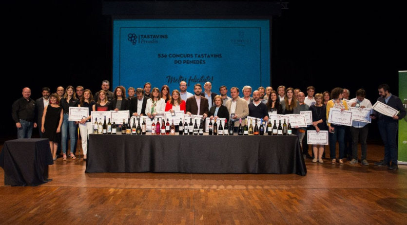 El Concurs Tastavins DO Penedès torna a celebrar l'entrega de premis a Vilafranca