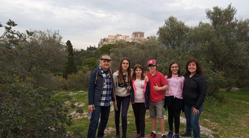 L'Escola El Castellot ha participat en dues trobades internacionals a Grècia i Portugal