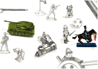 """Aquest dissabte s'inaugura l'exposició """"Tinc un tanc de joguina"""""""