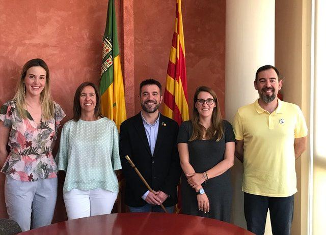 Manuel Raventós és l'alcalde de Torrelavit  fruit d'un pacte de govern amb el grup VI