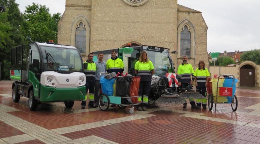 El servei de neteja viària de Santa Margarida i els Monjos es renova