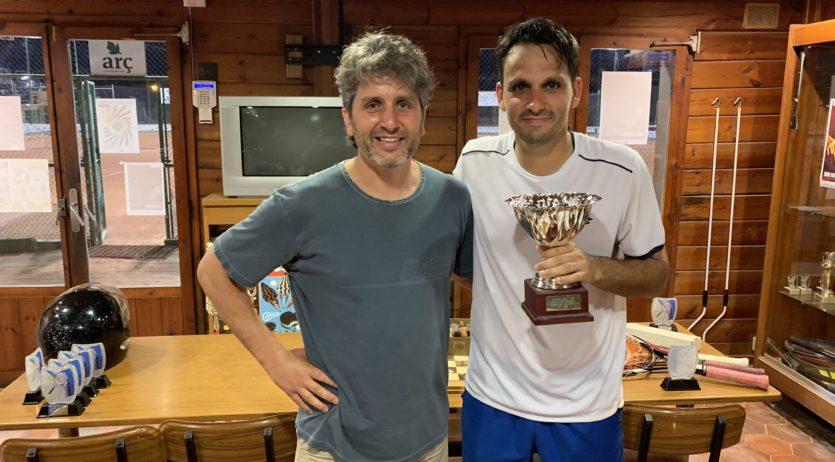 El torneig màster tanca la temporada regular de tennis al Casino de Vilafranca