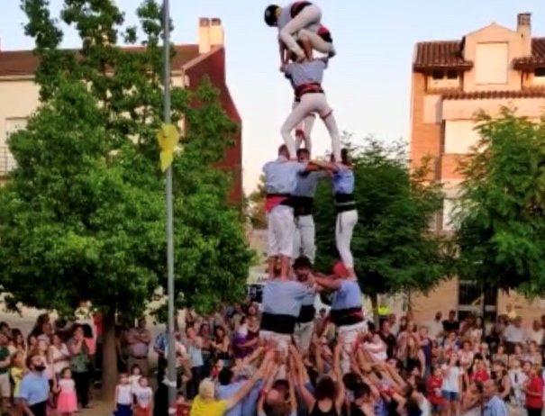 La Colla Jove ha participat per primer cop a la festa major de Sant Martí Sarroca