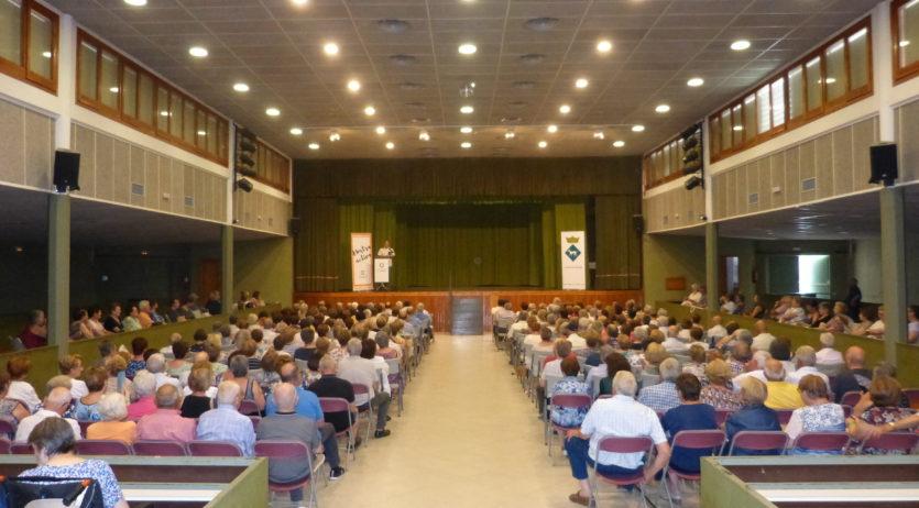 El Consell Comarcal celebra la XXI trobada anual de gent gran a Vilobí