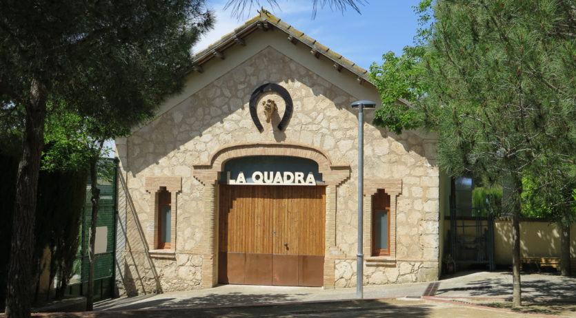 Santa Margarida i els Monjos estrena 'La Quadra', un espai dedicat a les festes del municipi