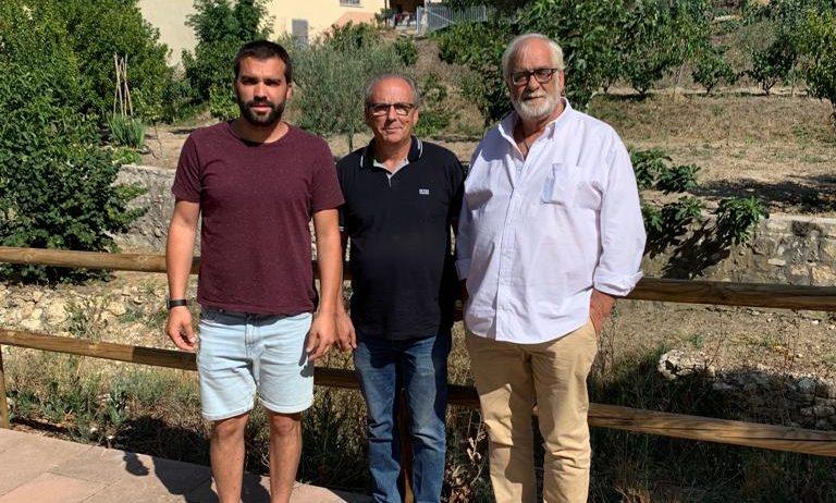 Reunió entre els alcaldes de Sant Martí, Torrelles i Pontons per tractar temes que els afecten
