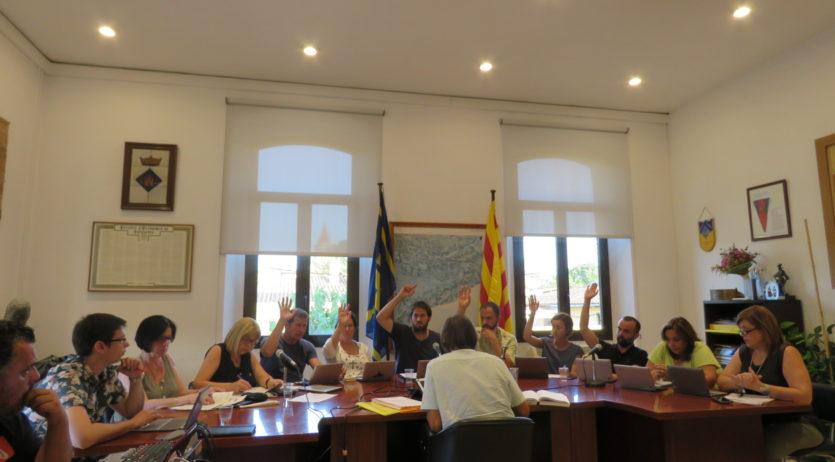 Olèrdola aprova una modificació de pressupost incloent la reforma de l'edifici de l'Ajuntament