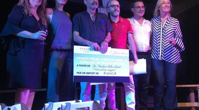 Francesc Xavier Soler s'endú el primer premi en el tercer Concurs de Relats Eròtics DO Penedès