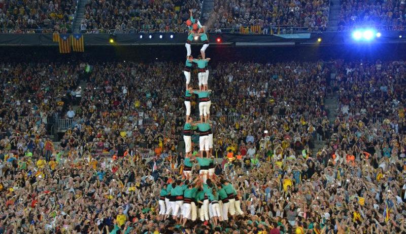 Els Castellers de Vilafranca actuaran en la inauguració del Johan Cruyff Stadium