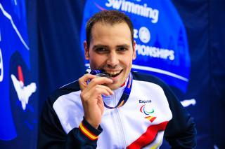 Toni Ponce ja s'ha penjat dues medalles al Campionat del Món