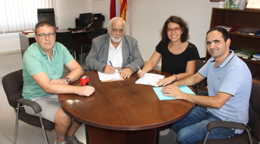 L'Ajuntament de Sant Martí firma un conveni amb l'empresa d'inserció Nou Set