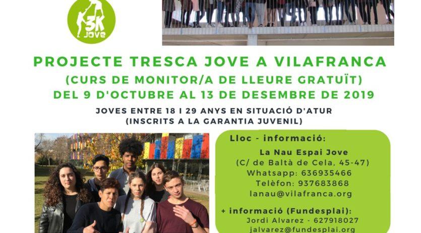 Es posa en marxa la segona edició del Tresca Jove a Vilafranca