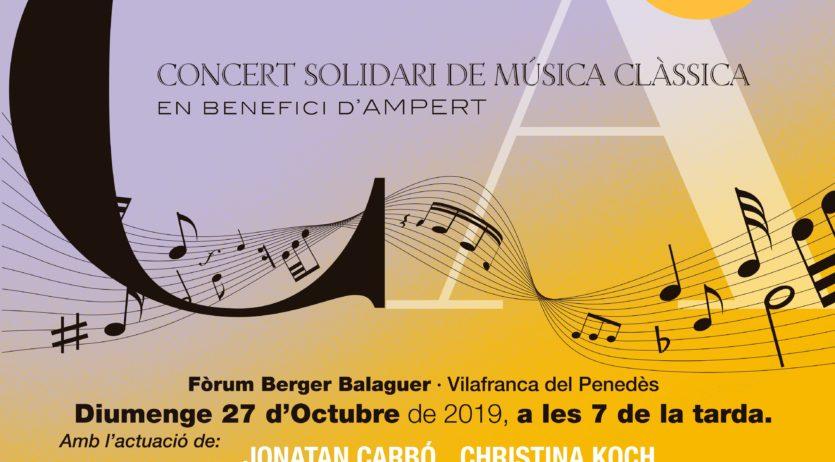 Ampert celebra enguany la seva novena edició del concert solidari Clàssicampert
