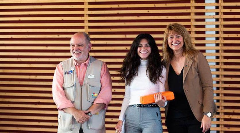 Laura Agustín, de l'Eugeni d'Ors, rep el primer premi dels premis Floquet de Neu de Recerca