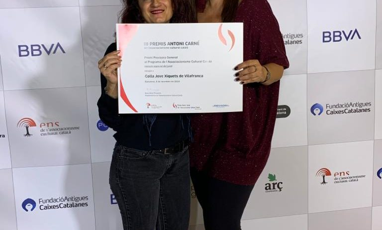 La Jove de Vilafranca, finalista dels III Premis Antoni Carné de Cultura Popular