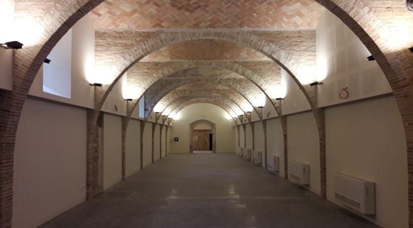 Han finalitzat les obres de rehabilitació del celler del Castell de Penyafort, als Monjos