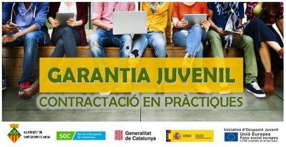 L'Ajuntament de Sant Sadurní contracta tres joves dins el programa Garantia Juvenil
