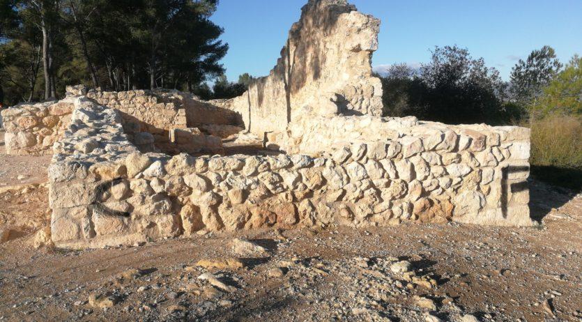 El conjunt monumental d'Olèrdola ha patit actes vandàlics els darrers dies