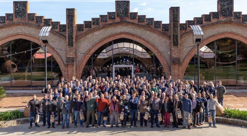 Codorníu ha signat un acord a cinc anys amb més de 170 viticultors de raïm ecològic del Penedès