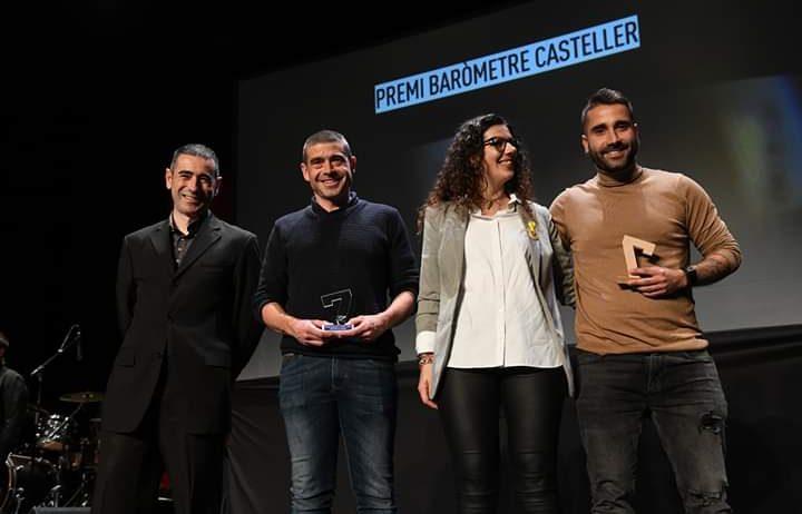 La Jove de Vilafranca i els Castellers de Mediona reben un reconeixement a la Nit de Castells