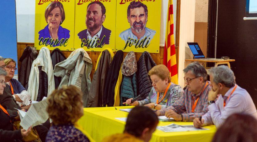 Jordi Parellada és reelegit com a president d'Òmnium Alt Penedès