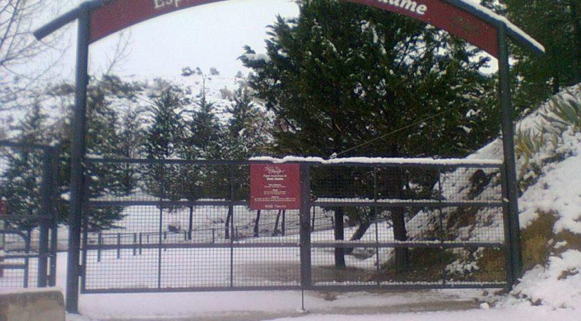 L'espai muntanya de Sant Jaume estarà tancat durant les festes de Nadal