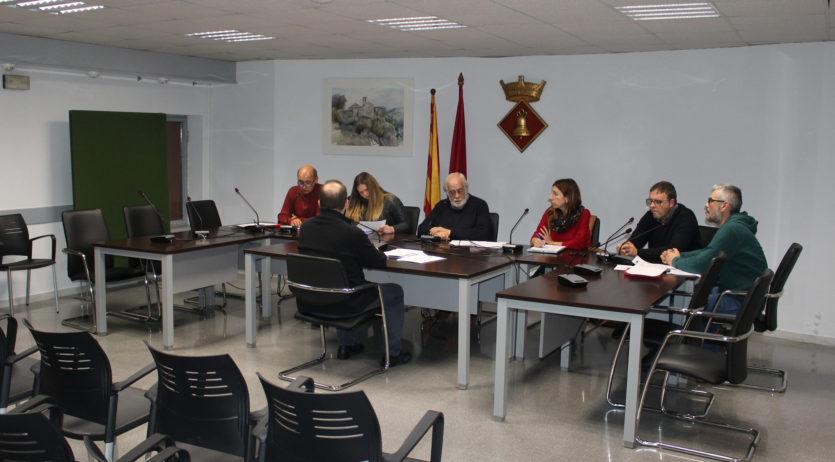 Sant Martí Sarroca aprova el Pressupost General per al 2020, amb l'absència de l'oposició