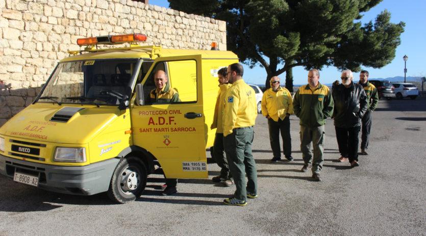 L'ADF de Sant Martí Sarroca fa donació d'un vehicle a l'ADF de l'Espluga de Francolí