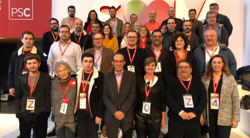 Lluís Valls i Abigail Garrido s'integren a l'executiva del PSC, com a secretatis nacionals