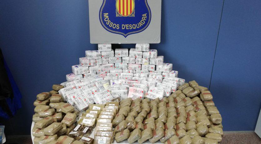 Desmantellada una organització criminal de distribució i venda de drogues al Penedès i Garraf