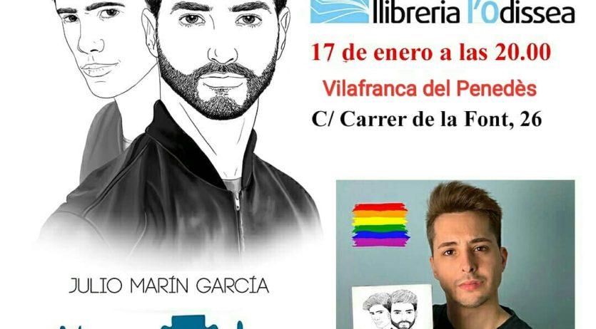 El jove escriptor i bookstagramer Julio Marín García presenta el seu darrer llibre a l'Odissea