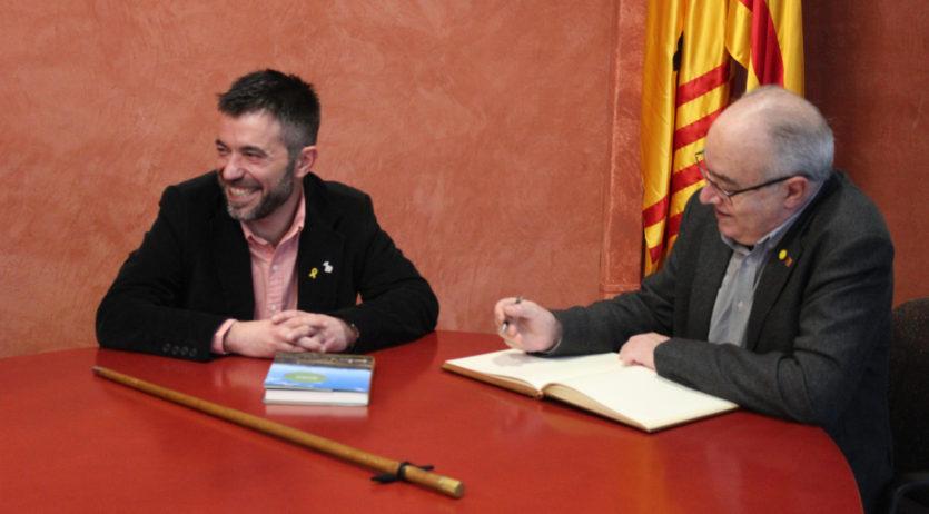 La Generalitat es compromet a acompanyar el govern de Torrelavit en l'adaptació de l'escola